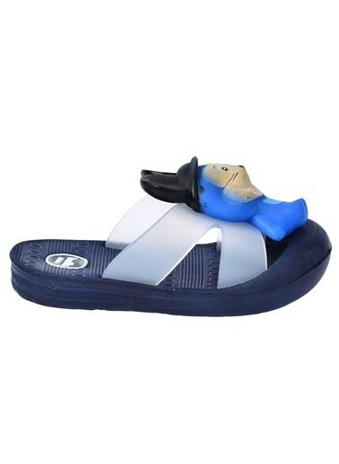 Kiko Kids Kiko Akn E238.000 Plaj Havuz Banyo Kız/Erkek Çocuk Sandalet Terlik Lacivert